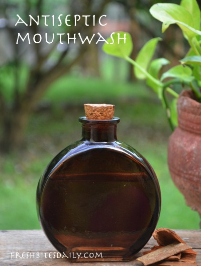 A slick homemade mouthwash in a lesson from India