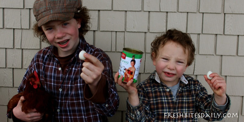 """Kids face quail eggs — """"I don't want them to hatch in my mouth"""""""