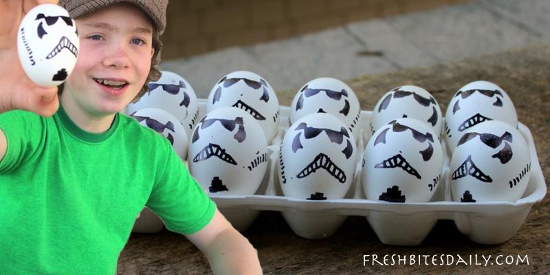 Your Star-Wars-inspired Storm Trooper Easter Basket