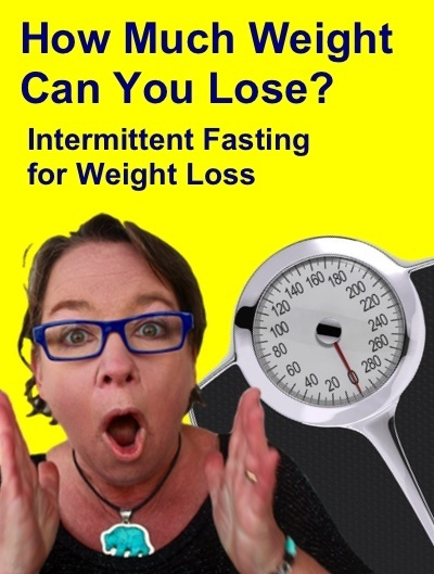 How much weight can you lose doing intermittent fasting?